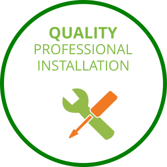 PROFESSIONAL INSTALLATION QUALITY